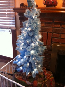 Tiny Blue Tree