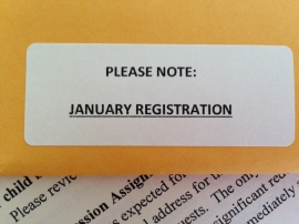 January Registration